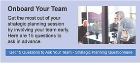 Strategic planning tools