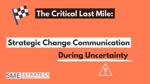 The Critical Last Mile_