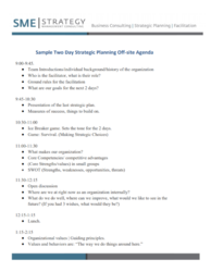 How To Create A Strategic Plan Course Strategic Planning Process